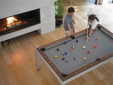 space for pool table amazing dining and billiard table for small spaces