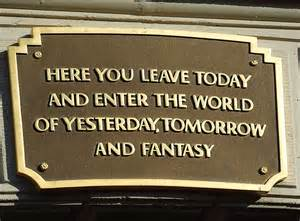 Disneyland Main Street USA Sign
