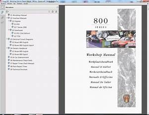 Rover 800 - Service Manual - Wiring Diagram