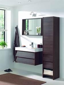 Meuble Rangement Salle De Bain But : meuble salle de bain des mod les tendance c t maison ~ Dallasstarsshop.com Idées de Décoration
