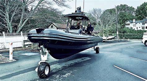 Rib Boat With Wheels by 9 8 M Hibious Boat Hibious Rib Asis Rhib