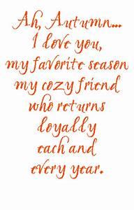 Ah, Autumn I Love you, My Favorite Season My Cozy Friend ...