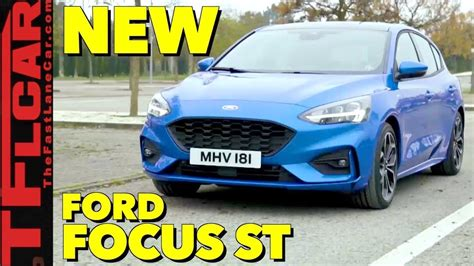 Here It Is The Allnew 2019 Ford Focus St Is Ready For