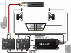 9 Best Images Of Speaker Crossover Wiring-diagram