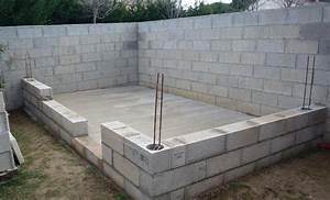 Construire Un Abri De Jardin En Parpaing : abri de jardin avec apuis sur mur de cloture 59 messages ~ Melissatoandfro.com Idées de Décoration