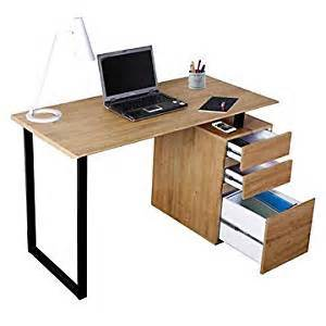 amazon com computer desk with file 47 quot office products