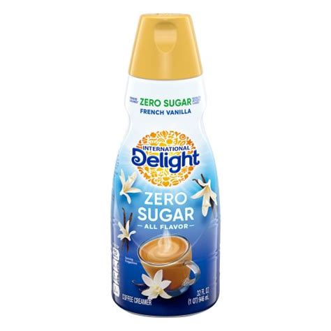 Non dairy coffee creamers and coffee syrup to add flavour and taste to your coffee without adding sugar. International Delight Sugar Free French Vanilla Gourmet Coffee Creamer 32.00 oz Harris Teeter