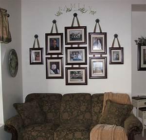 Inspiring wall decorating ideas of photos family house