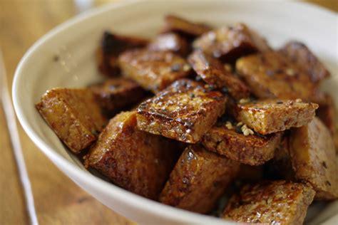 cuisiner du tofu nature idée de repas froid rapide inspiration de conception de
