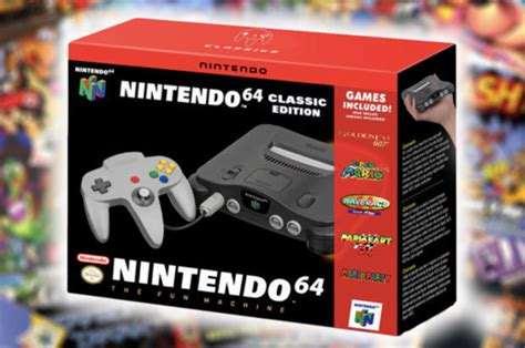 n64 classic mini release date nintendo reveals when we could see n64 mini release daily