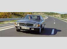 19711981 R107 MercedesBenz SLC Coupe History