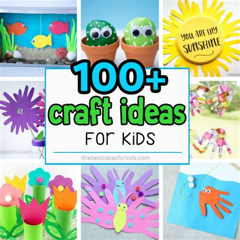 kid craft ideas 100 easy craft ideas for the best ideas for 4791