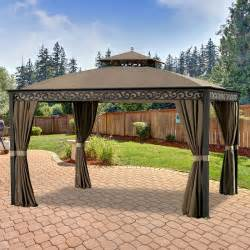 Big Lots Patio Furniture Replacement Cushions by Southport 10 X 12 Gazebo Replacement Canopy Riplock