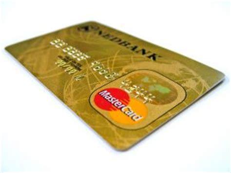 credit card bank account