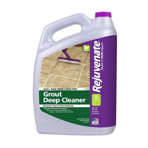home depot floor tile cleaner custom building products tilelab 1 gal grout and tile