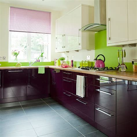 color for kitchen cabinets silver and pink bedroom ideas aubergine and kitchen 5539