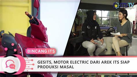 Gambar Motor Gesits Electric by Gesits Motor Electric Dari Arek Its Siap Produksi Massal