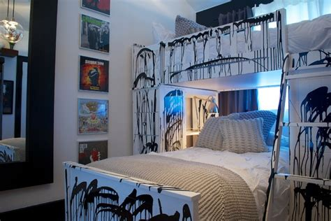chambre rock rock bedroom contemporary los angeles by