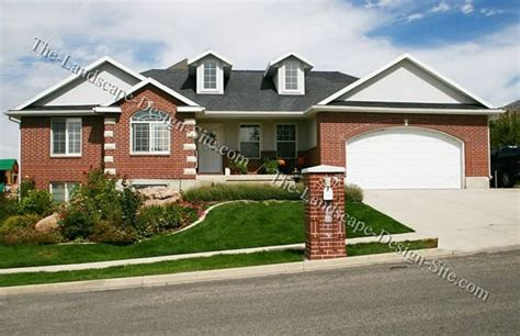 sloping front yard sloped front yard home sweet home outdoor pinterest