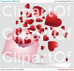 Royalty-Free (RF) Clipart Illustration of a Red Hearts ...