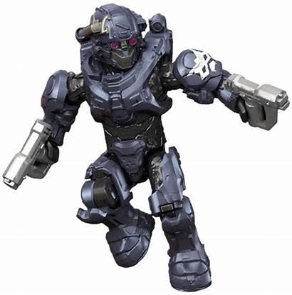 Argus Halo Spartan Unsc Mega Bloks 3d