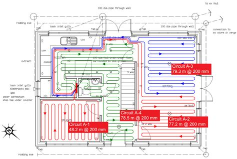 Wiring Diagram For Underfloor Heating And Radiator by Underfloor Heating The Global Archicad Community