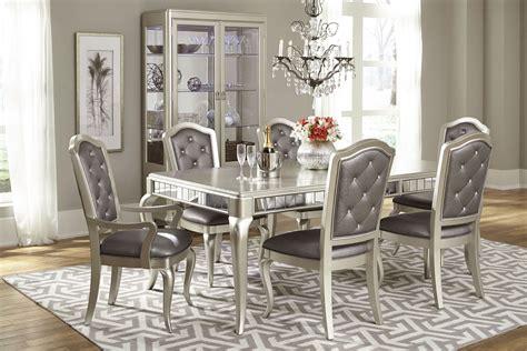 diva rectangular extendable leg dining room set