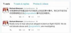 Richard Branson sends apologetic tweet after Virgin ...