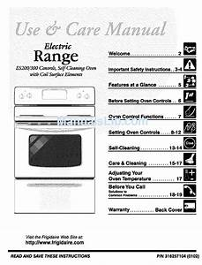Frigidaire Tef353aqa Use  U0026 Care Manual Pdf Download