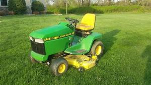 Mowing The Lawn With A John Deere Lx188