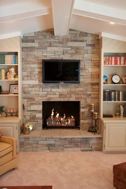 what is kitchen cabinet refacing stack veneer fireplace traditional living 8945