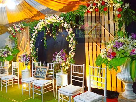 dekorasi pernikahan rumah murah rustic semarang daniico