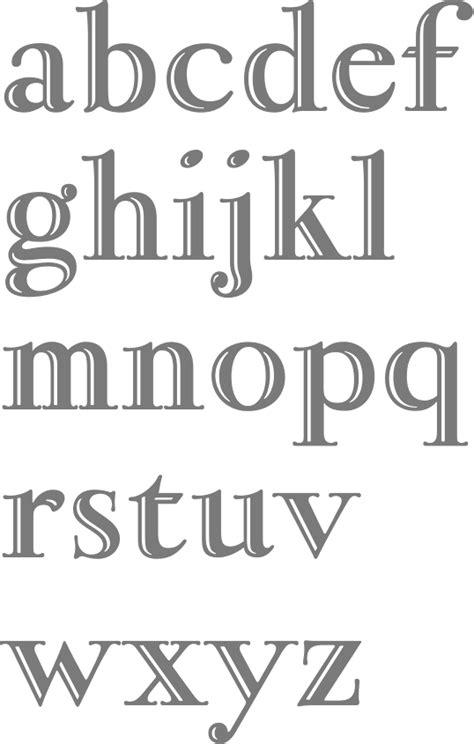 fond bureau myfonts album of engraved typefaces