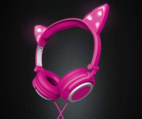 headphones with light up cat ears cat ear headphones from big lots heraldextra com