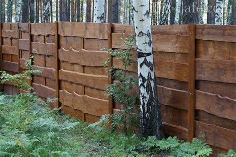 beautiful fence designs blending  materials