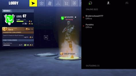 fortnite mobile   add friends send invite codes