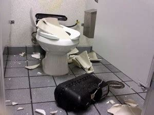 pressure assisted toilets exploding