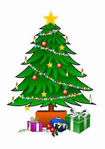 Christmas Tree Clip Art Vintage