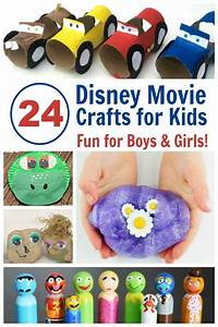 24 disney crafts great for family nights