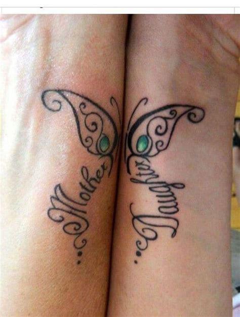 loving mother daughter tattoos inkdoneright