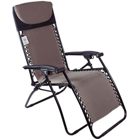 azuma zero gravity garden relaxer lounge chair cappucci ebay