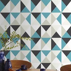coup de coeur sur les papiers peints origami decovero With couleur de peinture tendance 4 avantapras des toilettes graphiques avec un papier