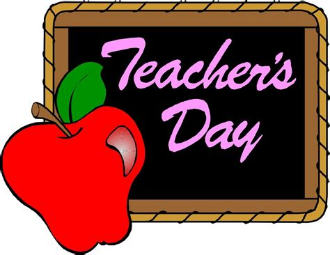 Teachers Clipart 55 Happy Teachers Day 2016 Greeting Pictures And Images