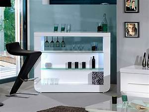 Sciae Floyd Contemporary High Gloss White Drinks Cabinet ...