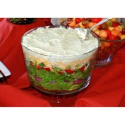 layer salad recipe allrecipescom