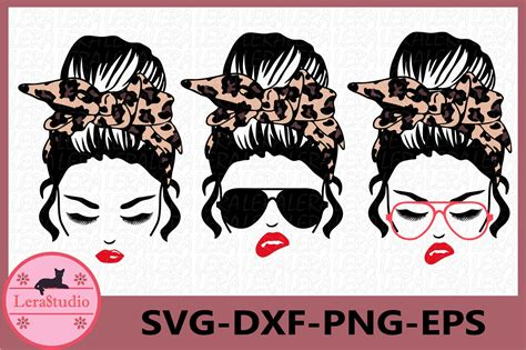 We would like to show you a description here but the site won't allow us. Messy Bun bandana Leopard svg, Mom life svg (842373) | Cut ...