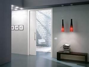 Porte Coulissante à Galandage : quel est le prix d 39 une porte galandage habitatpresto ~ Dailycaller-alerts.com Idées de Décoration