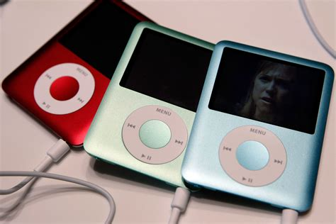 ipod nano generationen the ipod nano had a amazing history the verge