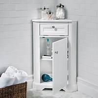 corner cabinet bathroom Weatherby Bathroom Corner Storage Cabinet | Improvements