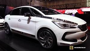 Citroen Hybride : 2015 citroen ds5 hybrid 4x4 exterior and interior walkaround 2015 geneva motor show youtube ~ Gottalentnigeria.com Avis de Voitures